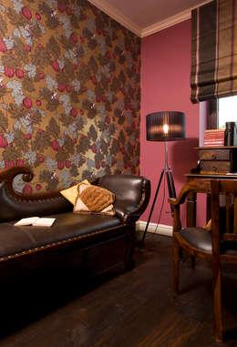 Dom Tancerzy: styl , w kategorii Domowe biuro i gabinet zaprojektowany przez Pracownia Projektowa Poco Design