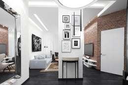 Pasillos y recibidores de estilo  por pashchak design