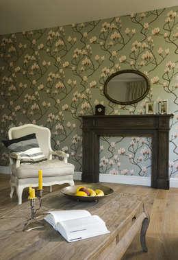 Pastelowy Wilanów: styl , w kategorii Salon zaprojektowany przez Pracownia Projektowa Poco Design