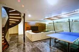 Casa SDLV: Salas de estilo moderno por sanzpont [arquitectura]