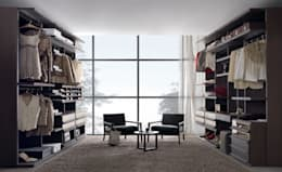 minimalistic Dressing room by Lamco Design LTD