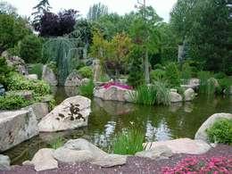 Jardines de estilo rústico por La ermita de Pozuelo