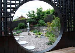 Projekty,  Ogród zaprojektowane przez Lush Garden Design