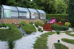 Gleen Tay: Jardin de style de style eclectique par SAS Glenn Tay Paysagiste