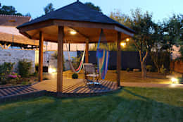 eclectische Tuin door SAS Glenn Tay Paysagiste
