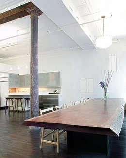 Столовая комната в . Автор – Slade Architecture