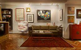 asian Living room by Stefano Tordiglione Design Ltd