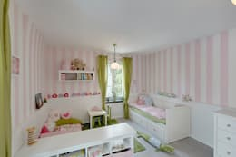 modern Nursery/kid's room by 28 Grad Architektur GmbH