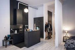 Loft w Łodzi: styl , w kategorii Kuchnia zaprojektowany przez I Home Studio Barbara Godawska