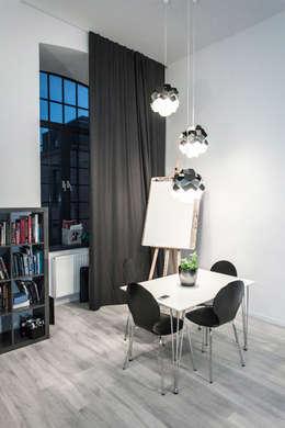 Loft w Łodzi: styl , w kategorii Jadalnia zaprojektowany przez I Home Studio Barbara Godawska