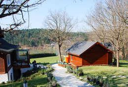 country Houses by NM Mimarlık Danışmanlık İnşaat Turizm San. ve Dış Tic. Ltd. Şti.
