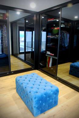 GOA / gulnar ocakdan archıtecture – HOUSE MFN   : modern tarz Giyinme Odası