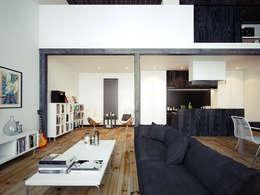 جدران و أرضيات تنفيذ The Wood Galleries