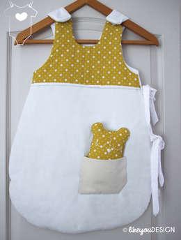 Gigoteuse -Moutarde & Bébé Oours- pour bébé personnalisable: Chambre d'enfants de style  par likeyoudesign