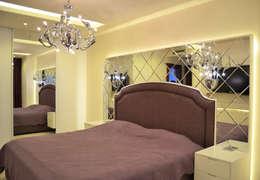 NM Mimarlık Danışmanlık İnşaat Turizm San. ve Dış Tic. Ltd. Şti. – VARYAP MERIDIAN B_40: klasik tarz tarz Yatak Odası