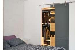 Projekty,  Sypialnia zaprojektowane przez CT home