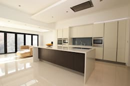 minimalistic Kitchen by LWK Kitchens