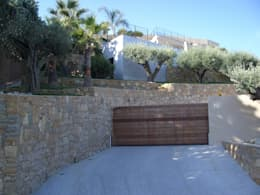 L'entrée de la propriété après les modifications:  de style  par Vanessa Cottin