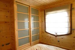 Спальни в . Автор – Casas Natura
