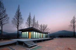 청산도 느린섬 여행학교   관리사: (주)오우재건축사사무소 OUJAE Architects의  주택