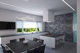 Кухня-столовая: Кухни в . Автор – ECOForma