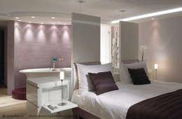 Innenarchitektur und Design Dalpiaz의  침실