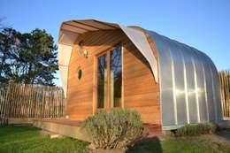 Mobile Ec'Home: Maisons de style de style eclectique par Alter Ec'Home&