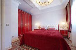Вилла в Испанской Каталонии: Спальни в . Автор – ODEL
