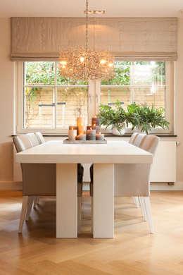 10 ideas para decorar interiores con grandes ventanas - Comedores grandes ...