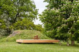 Bunker in Vuren (The Netherlands): landelijke Huizen door B-ILD Architects