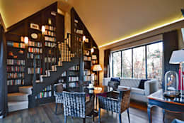 modern Study/office by Zodiac Design