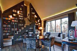Oficinas de estilo moderno por Zodiac Design