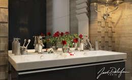 Grey elegance: Ванные комнаты в . Автор – Домрачева Екатерина