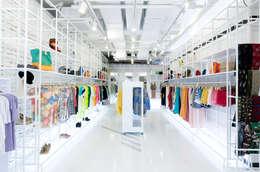 지루할 틈 없는 공간: Design m4의  상업 공간