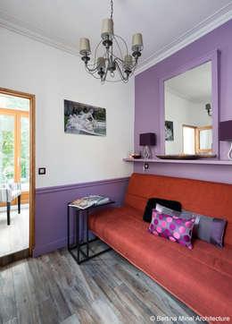 SAINT GERMAIN DES PRES : Chambre de style de style Moderne par Bertina Minel architecture