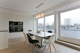 modern Dining room by Temza design and build