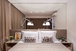 Dormitorios de estilo moderno por BEP Arquitetos Associados