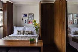 BEP Arquitetos Associados: modern tarz Yatak Odası
