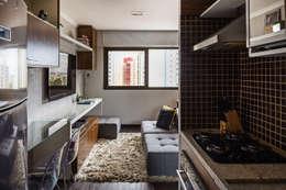 Cocinas de estilo moderno por BEP Arquitetos Associados