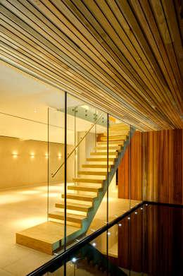 Corridor & hallway by MZO TARR Architects