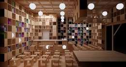 Книжный павильон: Бары и клубы в . Автор – Ruetemple