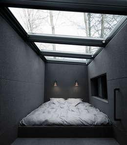 Projekty,  Sypialnia zaprojektowane przez Vipp