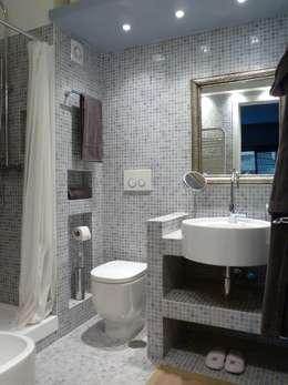 idee per il bagno: via la vasca per un box doccia moderno - Bagni Con Doccia Moderni