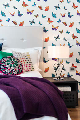 Спальни в . Автор – Moda Interiors