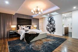 Dormitorios de estilo ecléctico por Moda Interiors