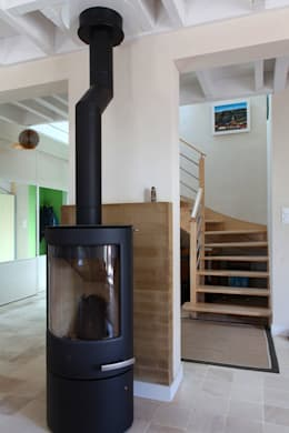 Vue intérieure: Maisons de style de style Moderne par Patrice Bideau a.typique