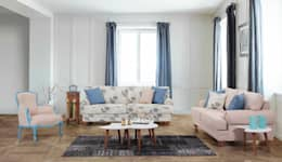 Trabcelona Design – lenova consept: modern tarz Oturma Odası