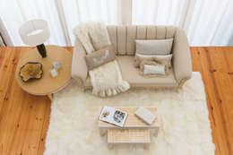 غرفة المعيشة تنفيذ Green Apple Home Style