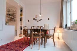 modern Dining room by phdvarvhitecture