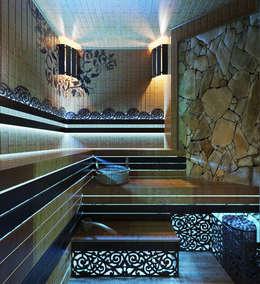 Сауна в стиле SPA салона: Спа в . Автор – Студия дизайна Interior Design IDEAS